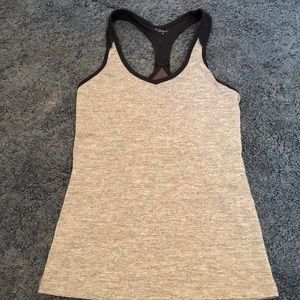 Manduka small tank with built in support